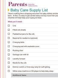 list of items needed for baby 29 ways to chart all of your pregnancy needs