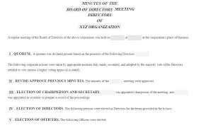 13 Meeting Minutes Templates To Help You Ace Your Nonprofit