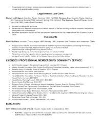 julie elizabeth young resume 2014 corporate and contract law clerk resume