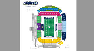 Chargers Stadium Seating Chart Chargers 2017 Season Tickets At Stubhub Range From 700 To