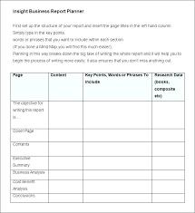 Short Business Report Sample Business Trip Report Format Business Report Templates Sample