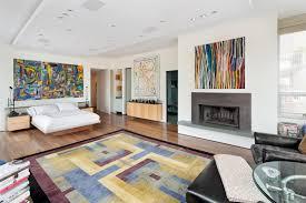 Modern Living Room Paintings Modern Interiors For Art Lovers