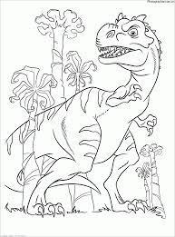 Tuyển chọn 50 mẫu tranh tô màu khủng long đẹp nhất