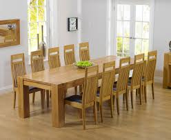 chunky dining table and chairs  solid oak dining table and  chairs