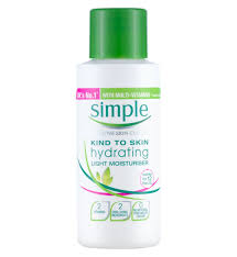 Simple Kind To Skin Hydrating Light Moisturizer Review Kind To Skin Hydrating Light Moisturiser