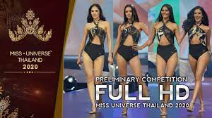 HD Swimsuit Preliminary Miss Universe Thailand 2020 - YouTube