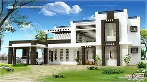 Exterior Home Design Contemporary  Interior Exterior Plan - House designs interior and exterior