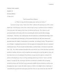 essay text analysis revised final draft  lambert 1 robert curtis lambertenglish 101professor bolton25 2012