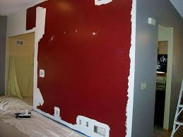painting over dark wall color