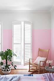 painting walls ideas11 Chic Half Painted Rooms  Sugar and Charm  sweet recipes