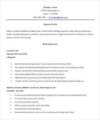 Resume High School Student Resume Objective Examples Best