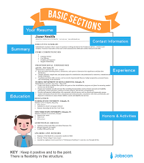 Resume Templates Guide Jobscan Copy Paste Resume Templates | Best ...