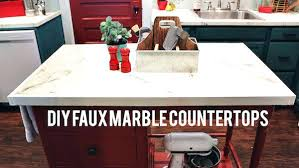 diy marble countertop faux marble kitchen diy marble countertop