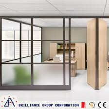 modern office partition. Modern Office Partition Tempering Glass Wall