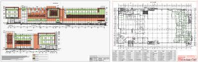 Курсовые и дипломные проекты общественное здание скачать dwg  Дипломный проект Торговый центр КУБА в г