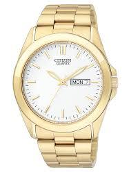 citizen men s gold tone stainless steel bracelet watch 41mm bf0582 citizen men s gold tone stainless steel bracelet watch 41mm bf0582 51a watches