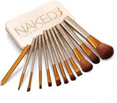 makeup products. smart urban decay naked3 makeup brush set products