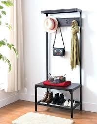 Corner Hall Tree Coat Rack Enchanting Corner Entryway Foyer Bench Seat Corner Hall Tree With Storage
