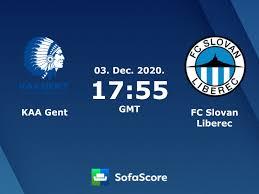 KAA Gent FC Slovan Liberec Live Ticker und Live Stream - SofaScore