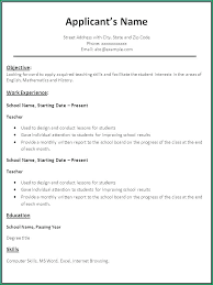 Ready Resume Format Resume Template Resume Format Ready To Edit