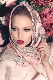 makeup ideas for party with hijab 5