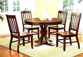 rustic round dining table set nice ideas small round dining table set kitchen sets rustic en