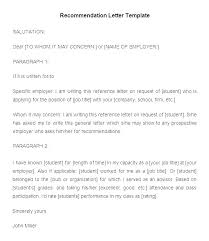 9 Employee Reference Letters Free Samples Examples Format