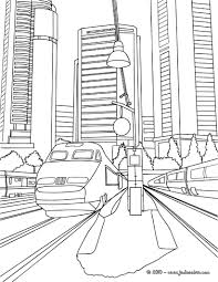 C Coloriage Coloriages De Vehicules Coloriages De Trains Coloriage
