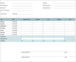 Timecard In Excel Excel Timecard Template Woodnartstudio Co
