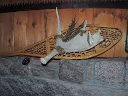 custom snowshoe decor