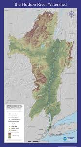 hudson river watershed map  nys dept of environmental conservation