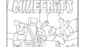 Minecraft Coloring Pages Fine Minecraft Steve And Alex Coloring