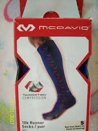 Target Sock Size Chart Mcdavid 10k Runner Higher Level Targeted Compression Socks Royal Blue Small