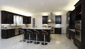 Modern black kitchen cabinets Black Wood Cabinet Kitchen Modern Dark Grey Livingurbanscape Black Cabinets Brown Design Pictures And White Cupboards Style With Kitchen Ideas Image 8490 From Post Modern Black Kitchen Cabinets With Red Walls