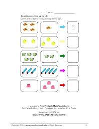 Free Printable Worksheets for Kindergarten Math New Math Worksheets ...