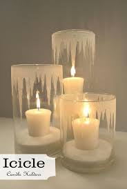 Diy Candle Holders Best 10 Christmas Candles Ideas On Pinterest Winter Decorations