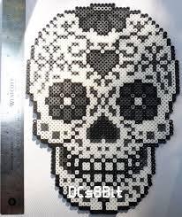The 27 best images about Polizei on Pinterest & Sugar Skull Perler by DCs8Bit on Etsy https://www.etsy.com Adamdwight.com