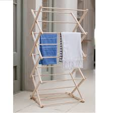 dryer that folds clothes. Folding-Wooden-Clothes-Horse-CHBE01 Dryer That Folds Clothes