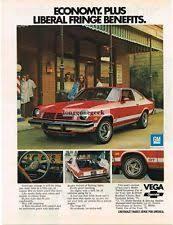 1974 vega gt 1974 chevrolet chvey vega gt red 2 door coupe vtg print ad