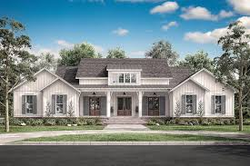 Modern Farmhouse Home Designs House Plan 041 00202 Modern Farmhouse Plan 3 076 Square