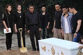 เศร้า! ซี-เชียร์ นำทีมเทวดาร่วมอาลัย บิ๊ก ข้างๆ โลงศพ ใน พายุเทวดา