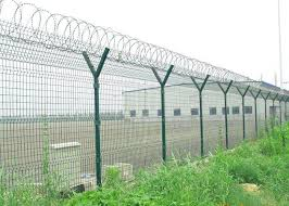 welded wire dog fence. Welded Wire Fence Panels Y Post Curved Airport Security Fencing  Mesh . Dog