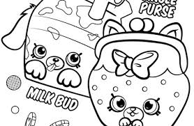 Shopkins Season 4 Coloring Pages Pertaining To Petkins