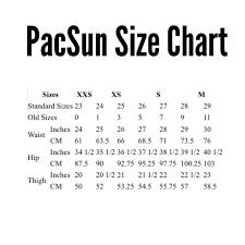 Pacsun Super High Rise Denim Shorts