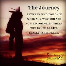 Beautiful Indian Quotes Best of The Journey Between Who You Once Were And Who You Are Now Becoming