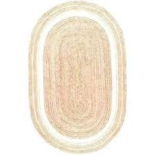 6x9 jute rug braided border jute bleached 5 ft x 8 ft oval area rug chenille 6x9 jute rug