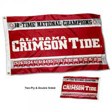college flags banners co alabama