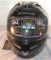 Akuma Helmet Size Chart Xxl Akuma Stealth Motorcycle Helmet With Built In Led Lights Usaf Logo