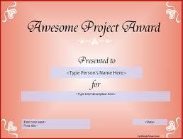 26 Certificate Templates Word Psd Ai