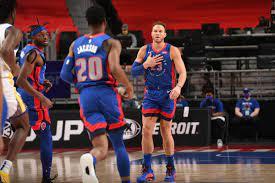 Pistons vs. Warriors final score ...